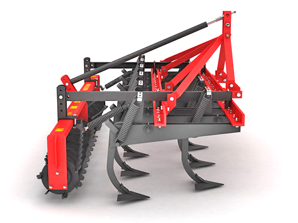 HEAVY THICK FRAME VERTICAL CULTIVATOR SINGLE ROLLER COMBINATION