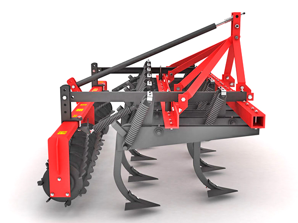 HEAVY CLOSURE FRAME VERTICAL CULTIVATOR SINGLE ROLLER COMBINATION