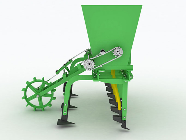 FERTILIZER HOE MACHINE