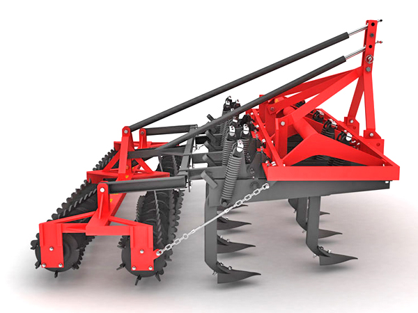 SUPER HEAVY VERTICAL CULTIVATOR DOUBLE ROLLER COMBINATION