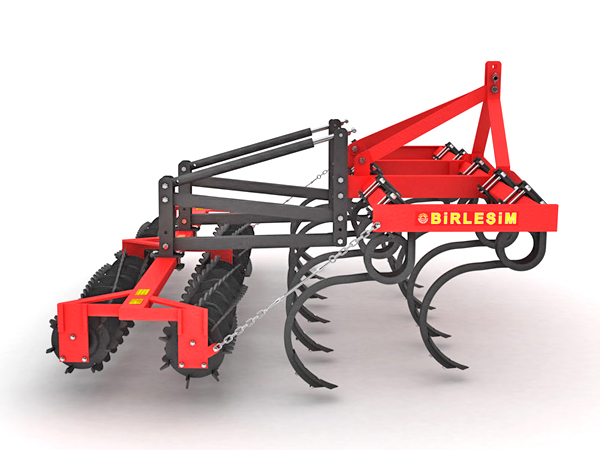 TILLER - 2 ROWS CULTIVATOR DOUBLE ROLLER COMBINATION