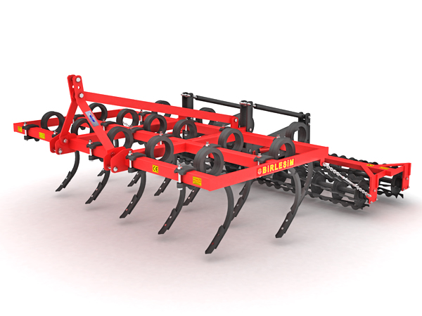 TILLER - 3 ROWS CULTIVATOR DOUBLE ROLLER COMBINATION